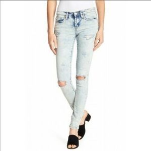 BLANKNYC Reade Distressed Skinny Jeans 25